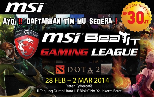 msi gamiong league