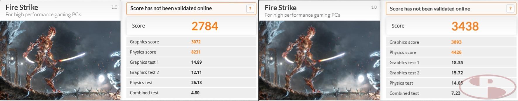 3DMark13 FireStrike
