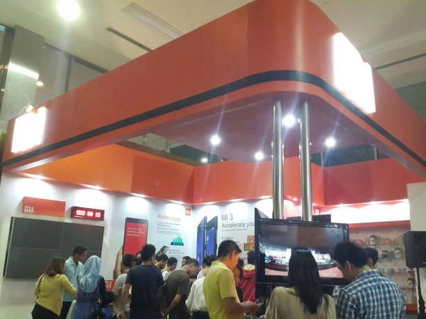Booth Xiaomi