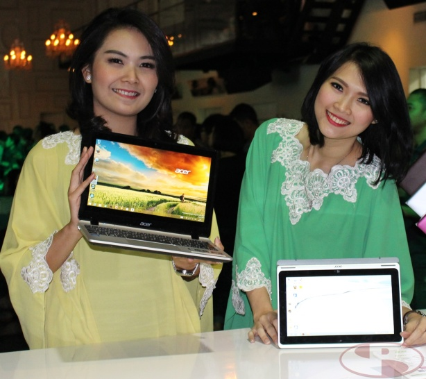 Acer Switch 10, 4 mode dalam 1 device.